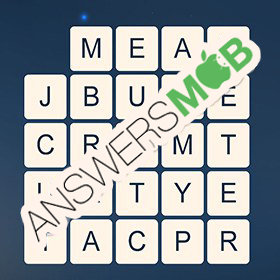 Answer for Word Cubes Oyster Level 12