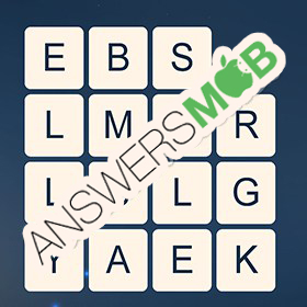 Answer for Word Cubes Ant Level 3