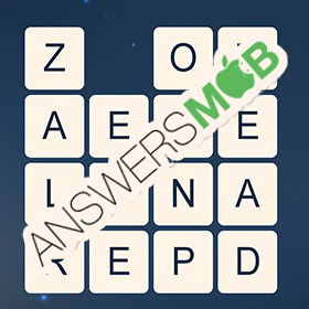 Answer for Word Cubes Ant Level 7