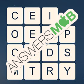 Answer for Word Cubes Ant Level 20