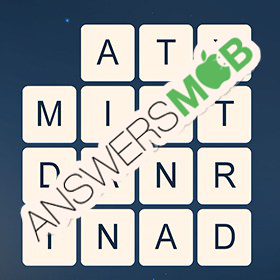 Answer for Word Cubes Ant Level 6