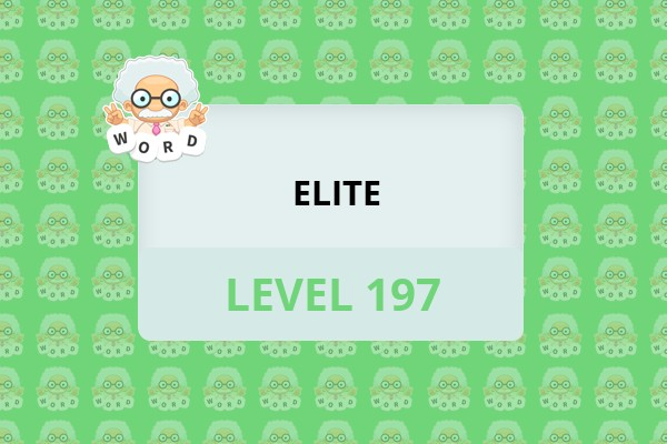 WordWhizzle Search Elite Level 197 Answer