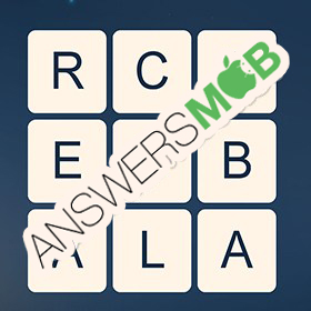 Answer for Word Cubes Neutron Level 1