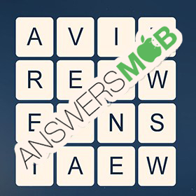 Answer for Word Cubes Dragonfly Level 8