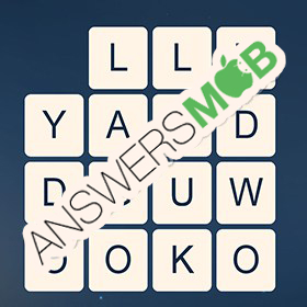 Answer for Word Cubes Ant Level 18