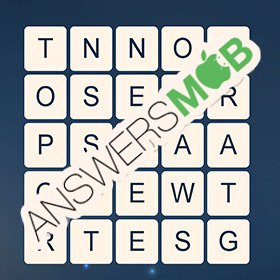 Answer for Word Cubes Sparrow Level 5
