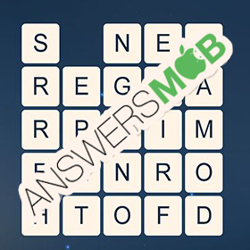 Answer for Word Cubes Sparrow Level 17