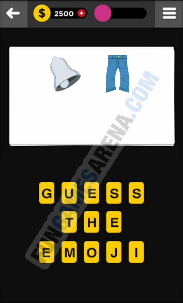 Guess The Emoji CLOTHING & ACCESSORIES - 11 Answer