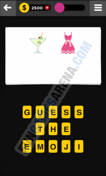 Guess The Emoji CLOTHING & ACCESSORIES - 8 Answer