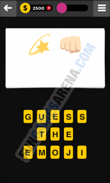 Guess The Emoji ACTION - 8 Answer