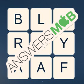 Answer for Word Cubes Atom Level 20