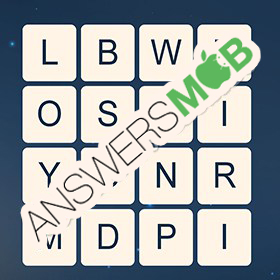 Answer for Word Cubes Dragonfly Level 4