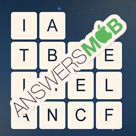 Answer for Word Cubes Cell Level 14