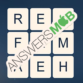 Answer for Word Cubes Atom Level 14