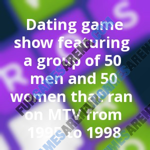 The dating game show trivia