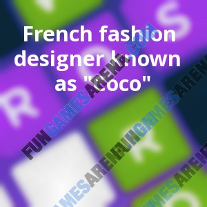 French Fashion Designer Known As