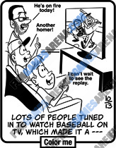 Jumble for Kids - Lots of people tuned in to watch baseball on TV, which made it a —