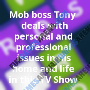 Mob boss Tony deals with personal and professional issues in his home and life in this TV Show