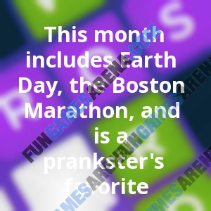 This Month Includes Earth Day The Boston Marathon And Is A Rh Fungamesarena Com Coloring Sheets Word Search