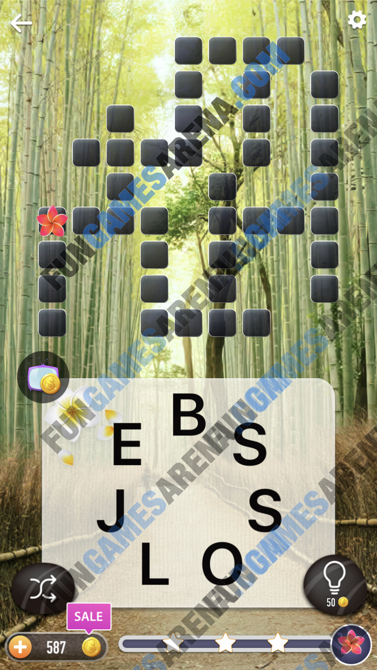 Word Crossy Daily Challenge December 13, 2017 Answers