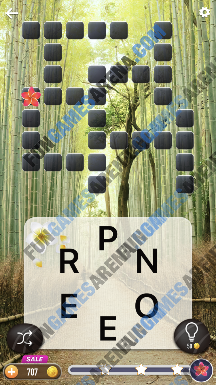 Word Crossy Daily Challenge December 30, 2017 Answers