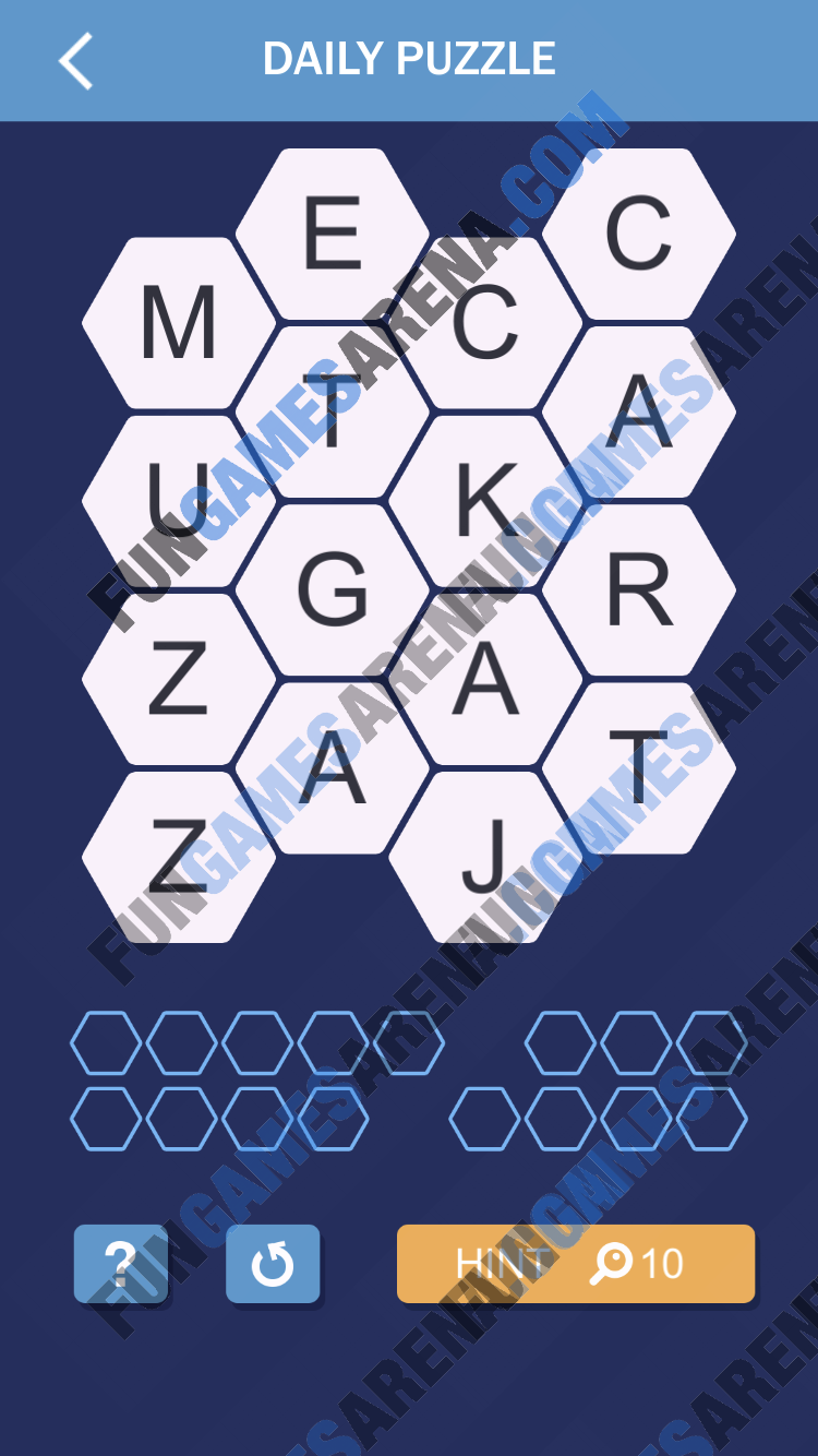 Word Spark Hexa March 1, 2018 Answer