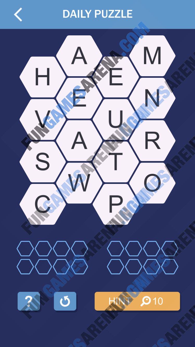 Word Spark Hexa March 7, 2018 Answer